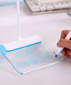 USB Rechargeable Desk Lamp With Message Board Book Light 8