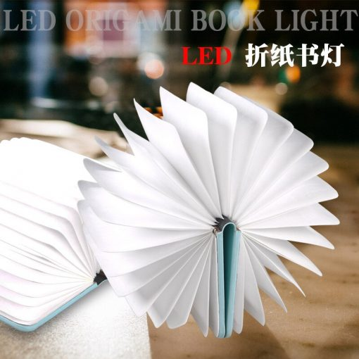 Creative Colorful Folding Book Lights 2