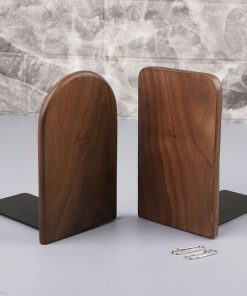 Wood Book Stand Desktop Organizer 2