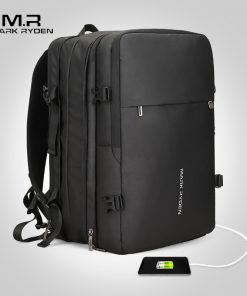 Mark Ryden Man Backpack USB Recharging Multi-layer Space
