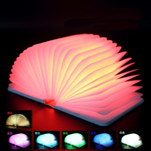 Creative Colorful Folding Book Lights