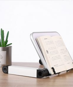 Aluminium Alloy Metal 360 Degree Adjustable Book Reading 4