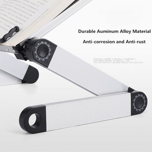 Aluminium Alloy Metal 360 Degree Adjustable Book Reading 8