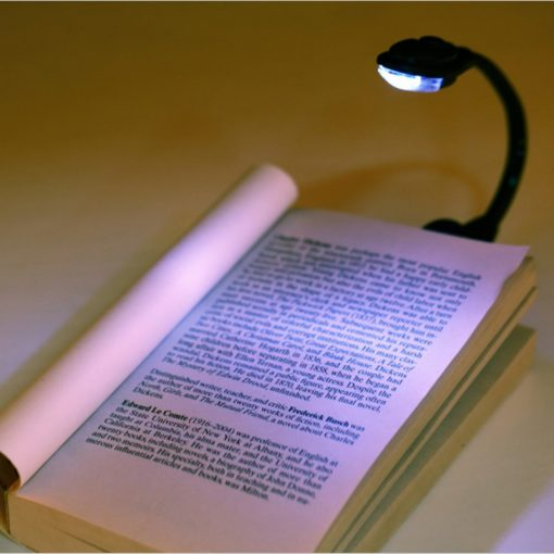 Led Book Light Mini Clip-On Flexible Bright Book Reading Lamp 2
